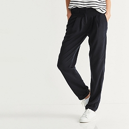 Pleat Tailored Pants
