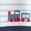 Train Motif Knitted Tank