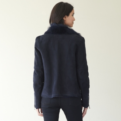 Toscana Sheepskin Biker Jacket