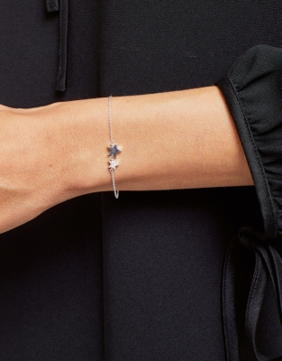 Twin Star Pavé Bracelet