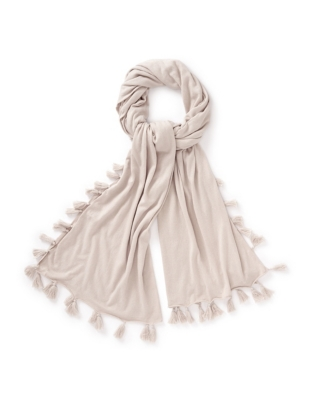 Tassel Knitted Scarf