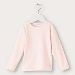 Picot Trim T-shirt - Pink