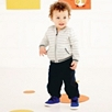 Baby Boy Twill Pants  - Navy