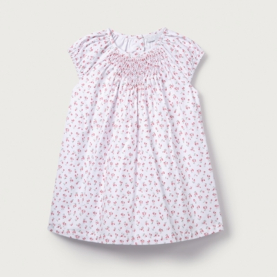 Tulip Floral Smocked Dress - The White Company