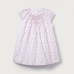 Tulip Floral Smocked Dress