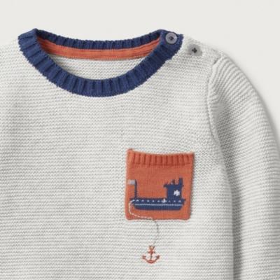 Tug Boat Sweater