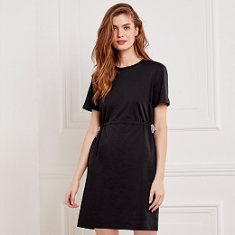 Tie Waist Detail Dress