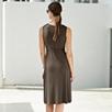 Twist Front Jersey Dress