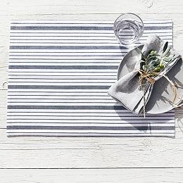 Stripe Cotton Placemats – Set of 2