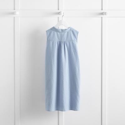 Textured Chambray Shift Dress (4-10yrs)