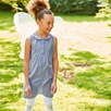Textured Chambray Shift Dress (4-10yrs)