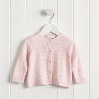 Textured Pointelle Cardigan