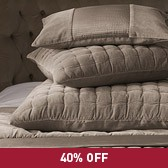 Buy Belmont Quilt & Cushions from The White Company