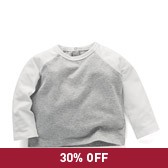 Buy Baby Boy Colourblock T-Shirt from The White Company