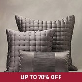 Buy Clarendon Quilt & Cushions - Heather from The White Company