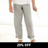 Buy Girls' Chinos from The White Company