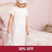 Buy Dobby Nightdress from The White Company