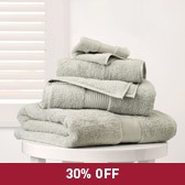 Egyptian Cotton Towels - Eucalyptus