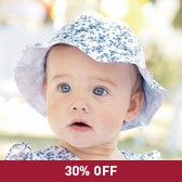 Buy Baby Girl Hat from The White Company
