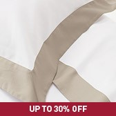 Buy Genoa Bed Linen Collection - Taupe from The White Company