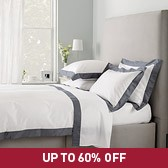 Buy Genoa Bed Linen Collection - Shadow from The White Company