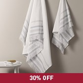 Hammam Stripe Towels
