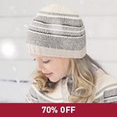 Buy Girls' Intarsia Hat from The White Company