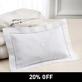 Buy White Lavender Filled Pillow from The White Company