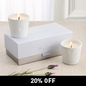 Buy White Lavender Ceramic Candles from The White Company
