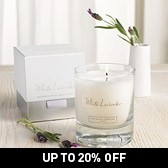 Buy White Lavender Signature Candle from The White Company