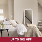 Buy Lisbon Quilt & Cushion Covers - Stone from The White Company