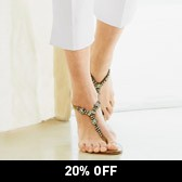 Buy Jewel Sandals - Neutral from The White Company