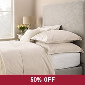 Buy Lucerne Bed Linen Collection - Natural from The White Company