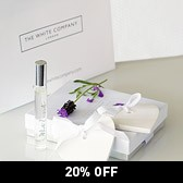 Buy White Lavender Ceramic Hearts & Spray - Set from The White Company