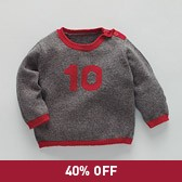 No 10 Baby Sweater - Timber