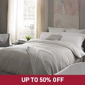 Buy Paisley Bed Linen Collection - Silver from The White Company