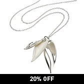 Buy Petal Cluster Necklace from The White Company