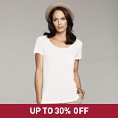 Buy Pocket T-Shirt - White from The White Company