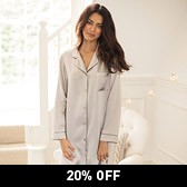 Silk Nightshirt - Ash Rose