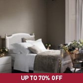 Buy Tuscany Quilt & Cushions - Mink from The White Company
