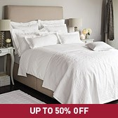 Buy Versaille Bed Linen Collection from The White Company