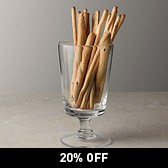 Buy Glass Crudites Pot from The White Company