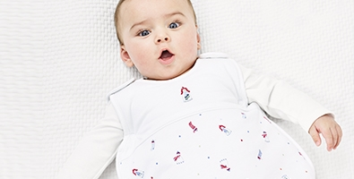 Our baby sleeping bag is made from super soft and thermoregulating natural fabrics that keep baby safe and comfortable all night long. Undisturbed sleep means a .
