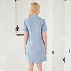 Utility Shirt Dress - Blue