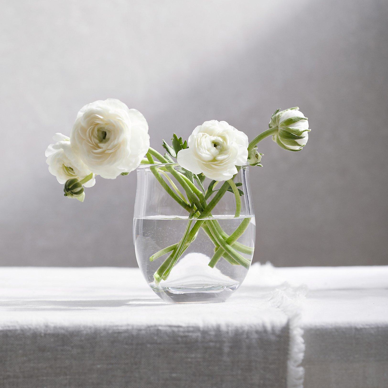 vases  small  large glass vases  the white company uk - boston small vase