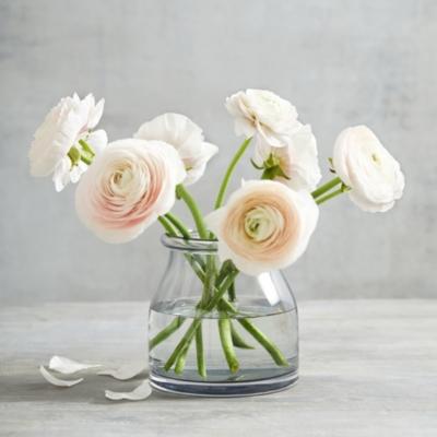 Smoked Aurelie Mini Vase Vases The White Company Uk
