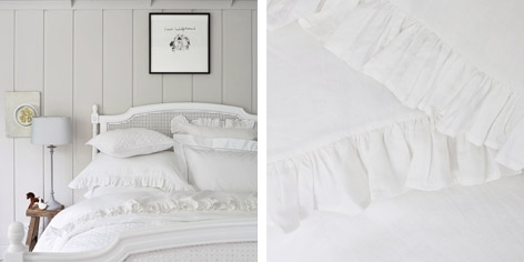 Vintage Frill Bed Linen