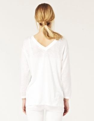 V-Back Jersey T-Shirt