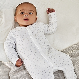 Star & Moon Sleepsuit