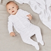 Velour Star Sleepsuit